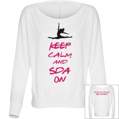 Keep Calm Top-Adult
