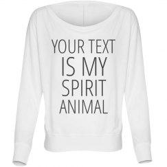 Custom Spirit Animal Tee