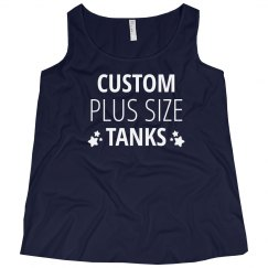 Custom Plus Size Tanks
