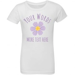 Your Words Custom Kids Shirt