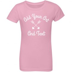 Add Art & Text Little Girls Fashion