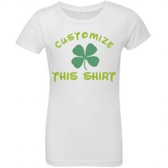 Custom Lucky St. Patrick's Girl