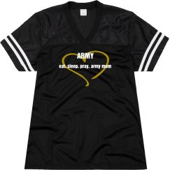 Eat Sleep Pray Army Mom Jersey