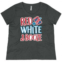 Red, White, & Booze July 4th Drink