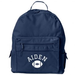 Custom Name Kids School Bag