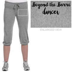 Beyond the Barre Dancer cropped sweats