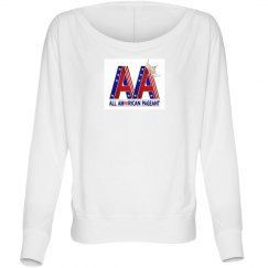 All American Pageants Flowy Long Sleeve Shirt