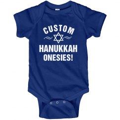 Custom Hanukkah Onesies