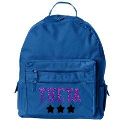 Theta book bag
