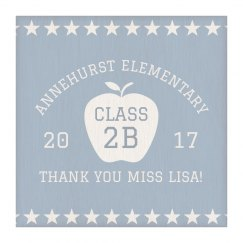 Custom Thank You Teacher Plaque
