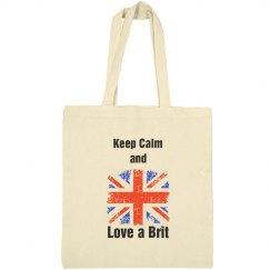 Love a Brit tote