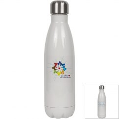 "Insulated Water Bottle ""Love Heals"""