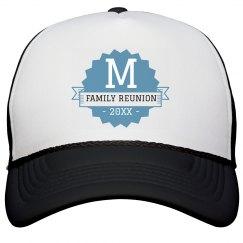 Custom Family Initial Trucker Hat