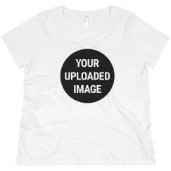 Upload Your Photo Custom Plus Size