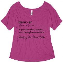 Dancer Definition shirt