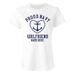 Custom Navy Girlfriend