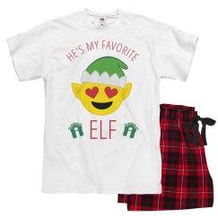 Emoji Mama Xmas Pajamas