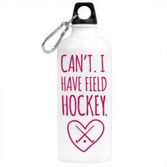 Field Hockey Water Bottle