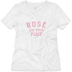 Rosé, if you May Boyfriend Tee