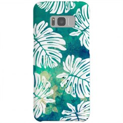 Tropical Print Trendy Phone Case