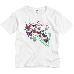Butterfly Tee w/ Name
