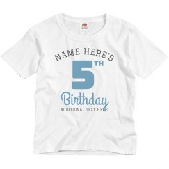 Custom Group Kids Birthday