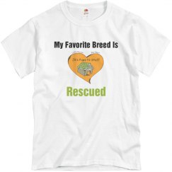 Favorite Breed is Rescued
