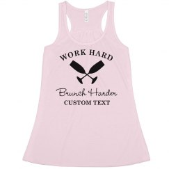 Brunch Harder Tank