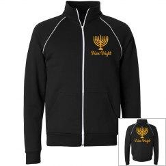 Hanukkah Fashion Zip Up