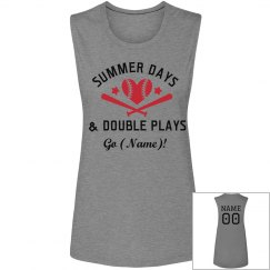 Double Plays Baseball Mom