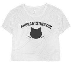 I'm A Chronic Purrcatstinator
