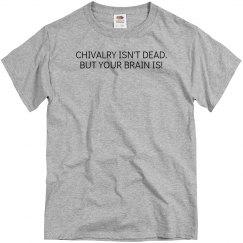 Chivalry Gray T-Shirt