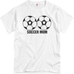 Soccer Mom Love Heart Soccerball