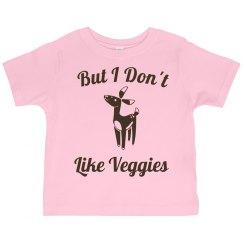 I don't like veggies