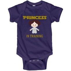 """Princess in Training"" Infant Onesie"