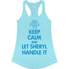 Sheryl stays calm