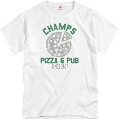 Champs 1 - White & Green