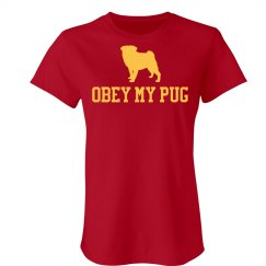 Obey My Pug