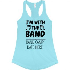 Custom Band Camp Music Notes
