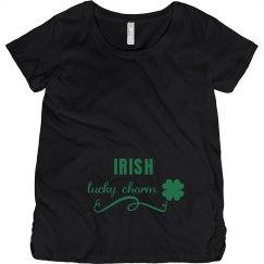 Irish Lucky Charm Maternity Top