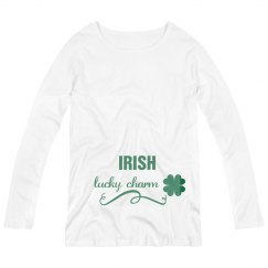 Irish Lucky Charm Maternity Top