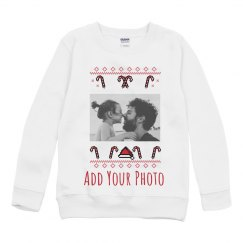 Add Your Photo Custom Youth Sweater