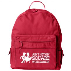 Square Dancing Fun Small Kids Backpack Bag