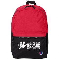 Square Dancing Fun Small Kids Backpack Bag