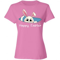 Happy Easter (Pink Bunny)