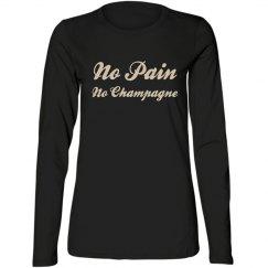 No Pain No Champagne Tshirt