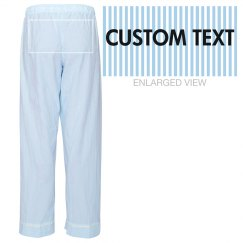 Custom Lounge Pajama Pants