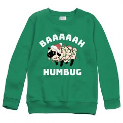 Bah Humbug Christmas Sheep Sweater