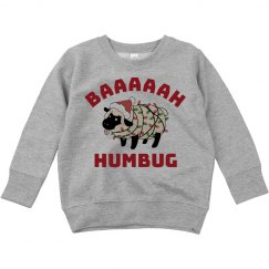 Bah Humbug Kids Xmas Ugly Sweater