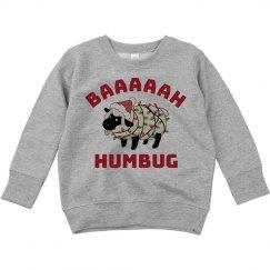 Bah Humbug Kids Xmas Ugly Sweater